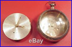 Thomas Porthouse London No722 Detent Chronometer Helical MVT Case Pocket Watch