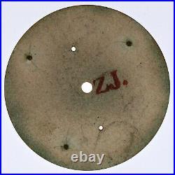Ulysse Nardin Chronograph Pocket Watch Dial Gunmetal Case Movement Parts