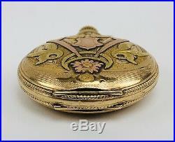 VINTAGE WALTHAM 1907 GOLD FILLED HUNTERS CASE LADY'S 0s POCKET WATCH 15j 165