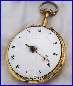 Verge Watch LONDON Pair Case Repair 1770-1780s (GOOD BALANCE)
