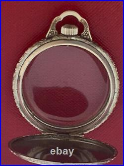 Vintage 12 Size 14k White & Yellow Gold Filled Never Used Pocket Watch Case