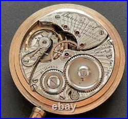 Vintage 1915 Illinois Bunn Special 9 Pocket Watch Ticks GF Case RR 16s 21j USA