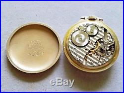 Vintage 1959 Hamilton Pocket Watch 992b with Bakelite Case - Railroad Approved