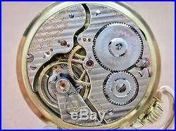 Vintage Hamilton 992 Pocket Watch & Bakelite Case In Extra Fine Condition