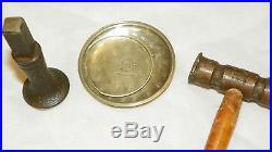 Vintage Pocket Watch Case Dent Removal Easy Way Low Cost Tools Information Only