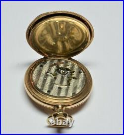 Vintage Waltham Grade 820 Pocket Watch 18 Size Hunting Case Model 1883 15 Jewel