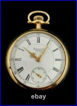 Waltham 18 Size 17 Jewel 120 Year Old Appleton Tracy Case Extra Fine Condition