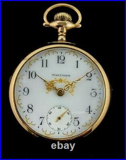 Waltham 18 Size 17 Jewel M#83 Extra Fancy Dial and. Case Extra Fine