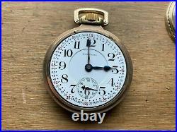 Waltham Vanguard 16s 23 Jewel Pocket Watch, Fortune Gold Filled Case