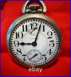 Waltham Vanguard RR Watch, with Up / Down Indicator, 16 size, GF Case