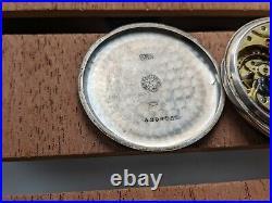 ZENITH pocket watch Silver case