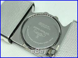 ZIPPO Limited Edition Time Tank Alarm Pocket Watch w Case & Paper Silver