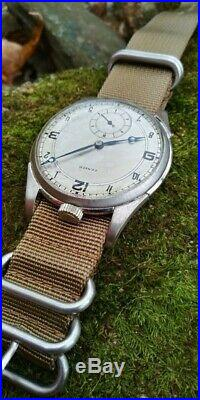 Zenith (Vintage 1936 Pocket Watch conversion to Wristwatch) 46mm Case